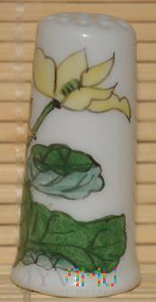 Naparstek -kwiaty, recznie malowany
