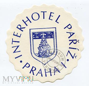 Czechosłowacja - Praha - Hotel