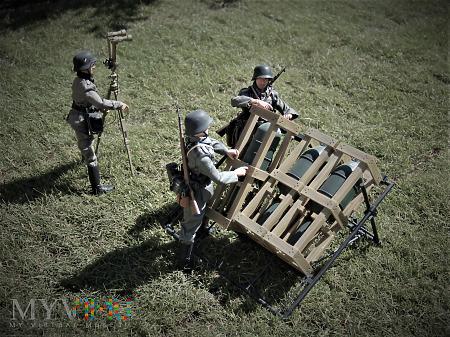 Sekcja ze Schweres Werfer-Regiment 1.