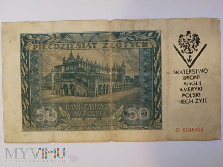 50 zł. 1941