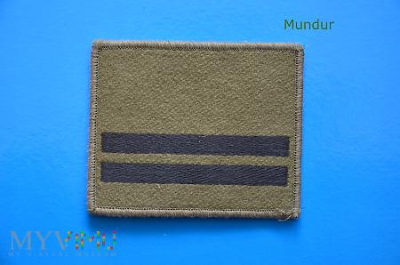 Oznaka stopnia - kapral BOR