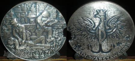 Duże zdjęcie 024.37 rocznica Powstania Warszawskiego. Wersja II