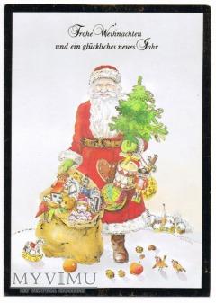 Mikołaj prezenty dziadek do orzechów
