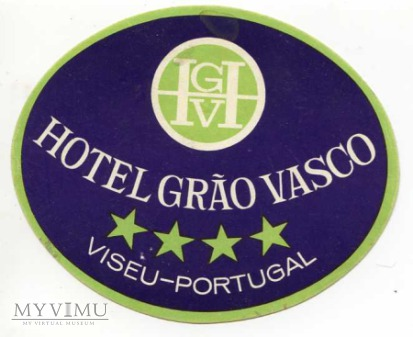 "Portugalia - Viseu - Hotel ""Grao Vasco"""