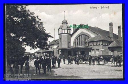 KOŁOBRZEG Kolberg Dworzec kolejowy