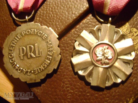 Medale za Długoletnie Pożycie Małżeńskie PRL