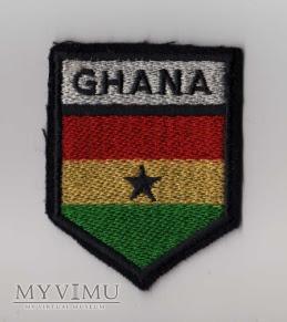 GHANA - naszywka przynależności państwowej