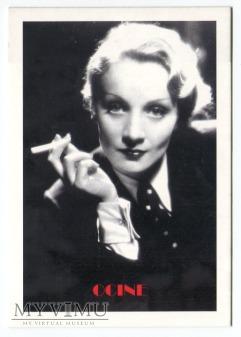 Duże zdjęcie Marlene Dietrich Karta Katalonia Hiszpania Ocine