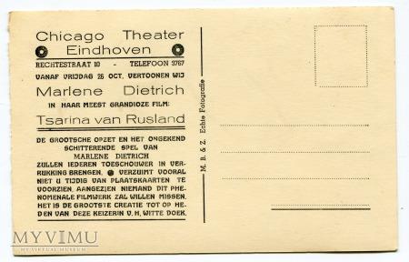 MARLENE DIETRICH M. Bonnist & Zonen Eindhoven