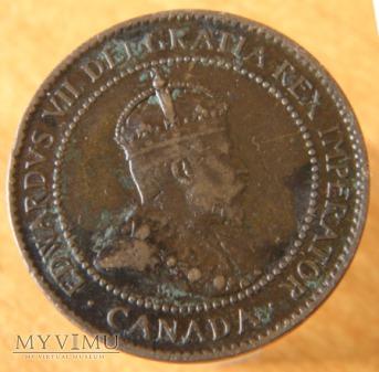 1 Cent Kanadyjski 1902