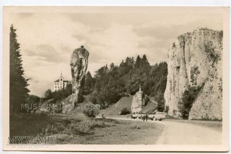 Pieskowa Skała od wschodu - przed 1939 r.