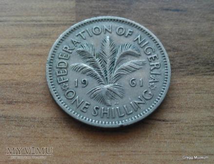 1 SHILLING -NIGERIA 1961