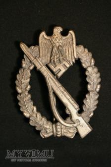 Odznaka szturmowa piechoty - srebrna.