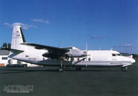 Fokker F27-600, SP-FNF