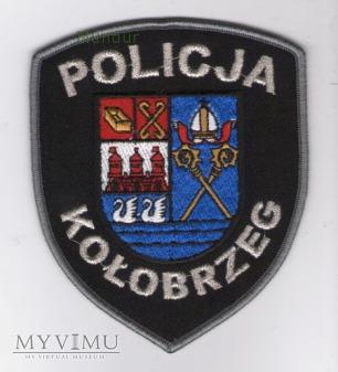 Oznaka POLICJA KOŁOBRZEG