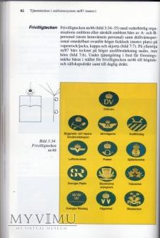 Szwecja-oznaka specjalności wojskowej:kraftforetag