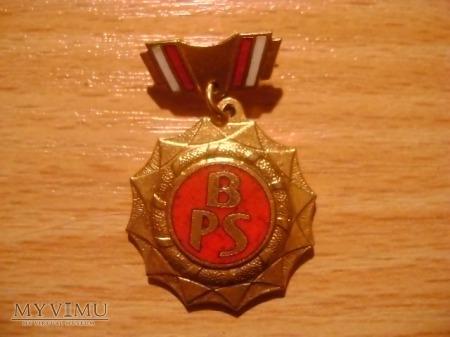 złota odznaka BPS