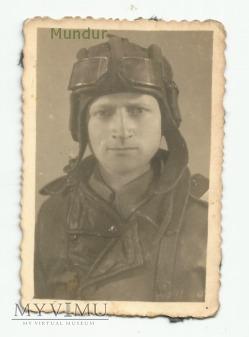 Zdjęcie portretowe: czołgista 1946r.
