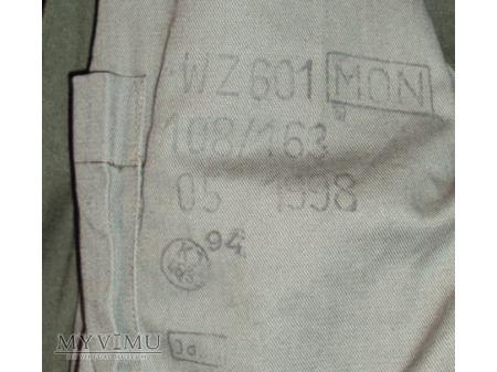 Kombinezon czołgisty zielony (wz601 MON)