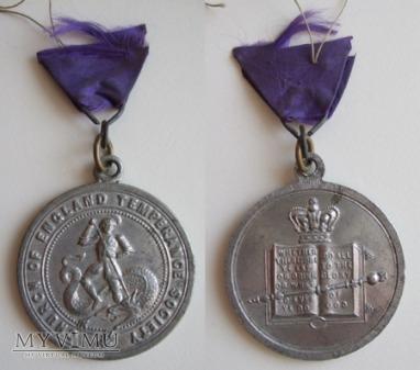 Church of England Temperance Society medal XX w.