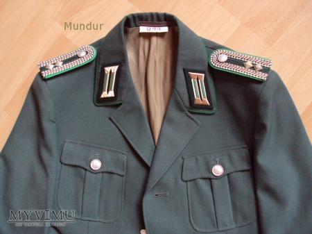 Mundur policjanta NRD - Volkspolizei Meister