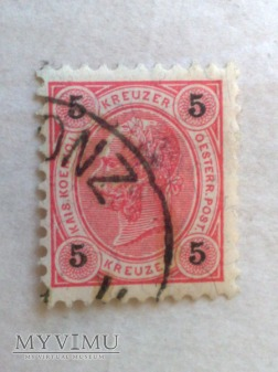 Franz-Joseph 1890 5 Krajcar austro-węgierski