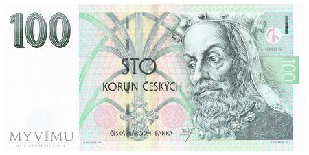Czechy - 100 koron (1997)