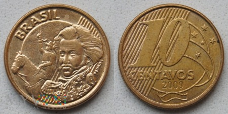 Brazylia, 10 centavos 2009