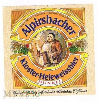 alpirsbacher kloster-hefeweissbier dunkel