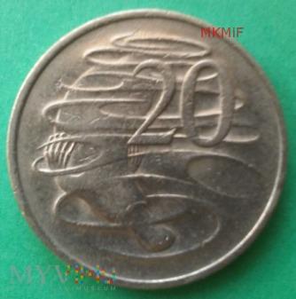 20 centów Australia 1980