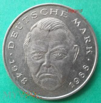 2 marki Niemcy 1989r