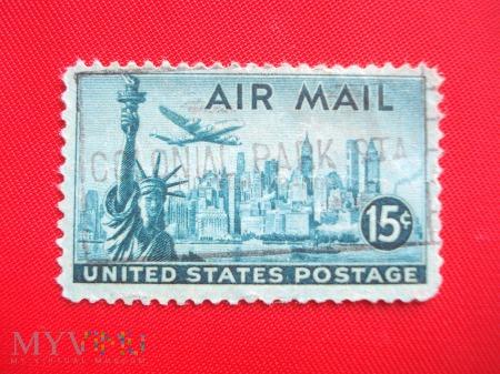Poczta lotnicza USA