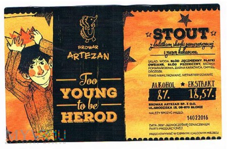 too young to be herod