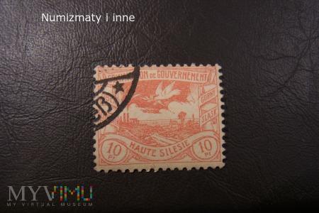 śląskie znaczki plebiscytowe za 10 fenigów