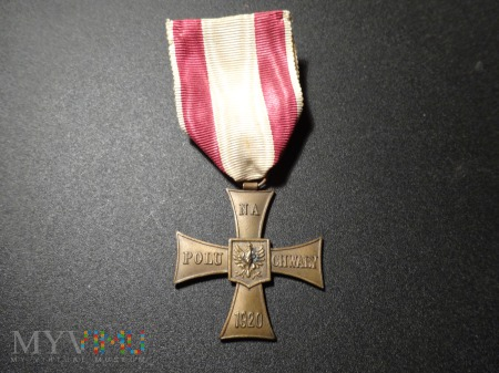 Duże zdjęcie Krzyż Walecznych - po 1945 r. ??? ; 25.
