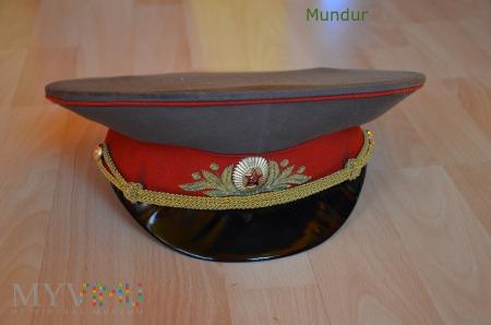Czapka służbowa generała sowieckiej armii