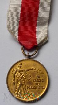 Medal Za Zasługi Dla Pożarnictwa - ZW ZOSP - złoty