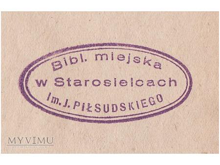 Bibl.Miejska im.J.Piłs. w Starosielcach