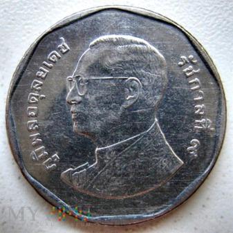 Duże zdjęcie 5 bahtów 2012 r.(๒๕๕๕) Tajlandia