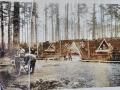 obóz RAD w lesie 1941