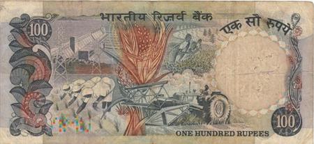 INDIE 100 RUPII 1983-84
