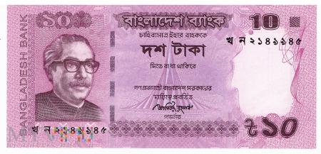 Bangladesz - 10 taka (2013)