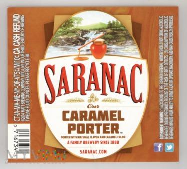 Saranac, Caramel Porter