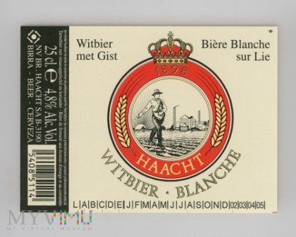 Haacht, Witbier Blanche