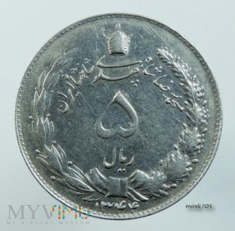 Iran 5 rialów 1965 (1344)