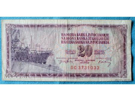 20 Dinarów 1974