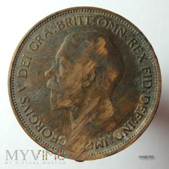 Moneta 1 Pens 1936 Jerzy V One Penny