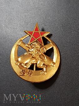 Odznaka 54 Pułku Artylerii Francuskiej /dowodzenie