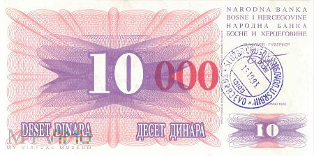Bośnia i Hercegowina - 10 000 dinarów (1993)