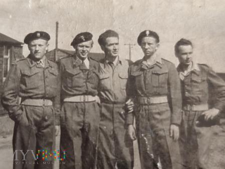 Polscy Żołnierze w Szkocji - już po wojnie 1946r.